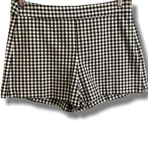 Gap High Waist, Twill Gingham PINUP Short Shorts